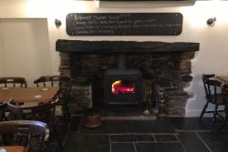Miners Arms fireplace